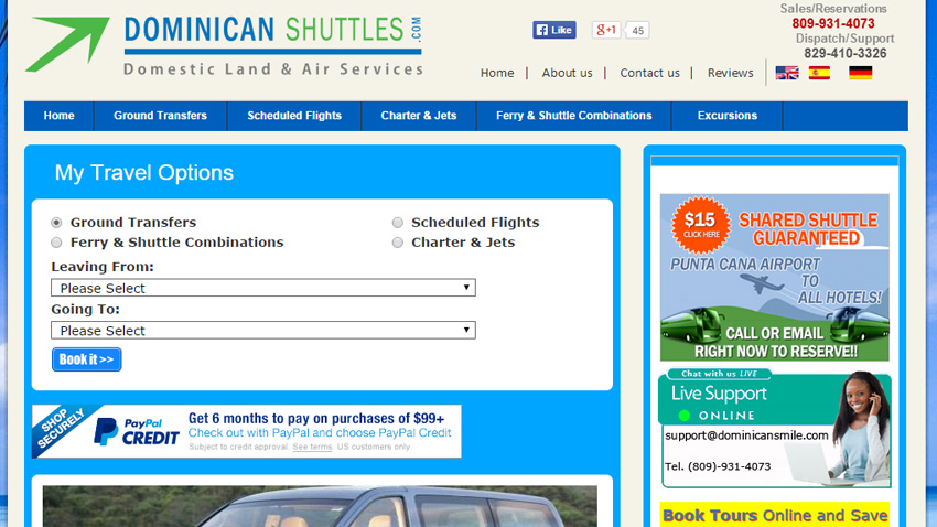 Dominican Shuttles - Dominican Republic